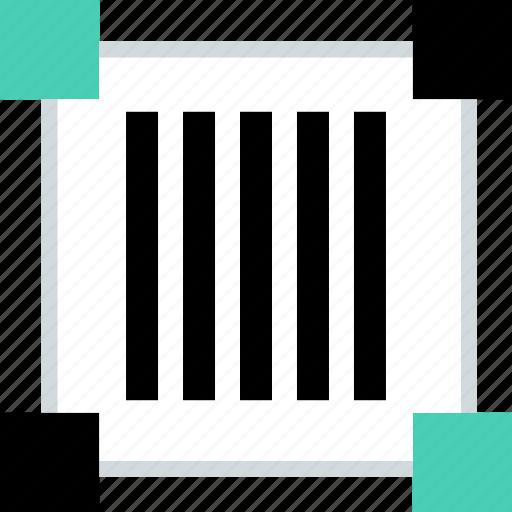 abstract, barcode, code, creative, design, scan icon