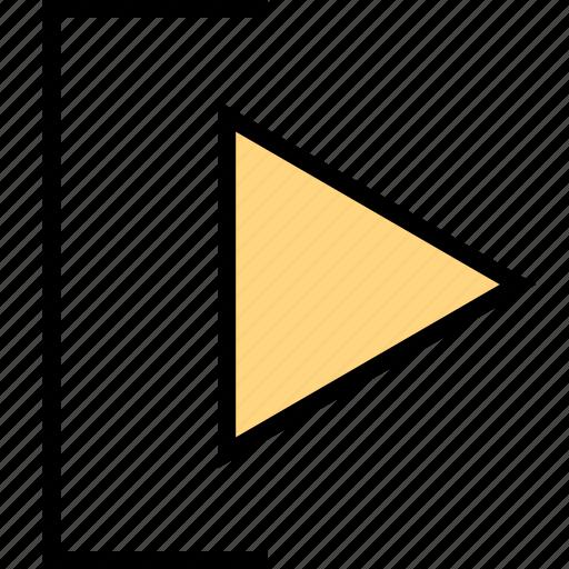 abstract, arrow, design, go icon
