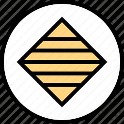 abstract, cube, design, diagnol icon