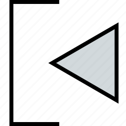 abstract, design, exit, left icon