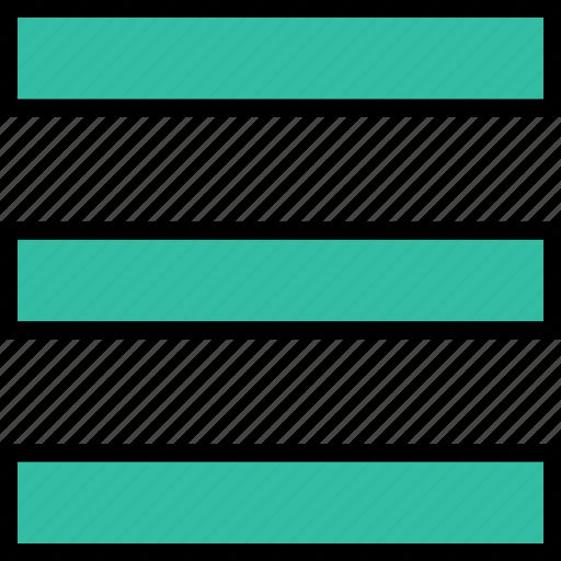 lines, menu, option, three icon