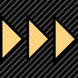 abstract, design, go, next, right icon