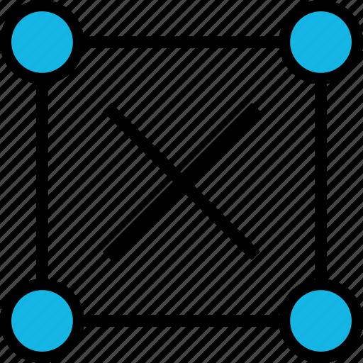 abstract, delete, design, stop icon