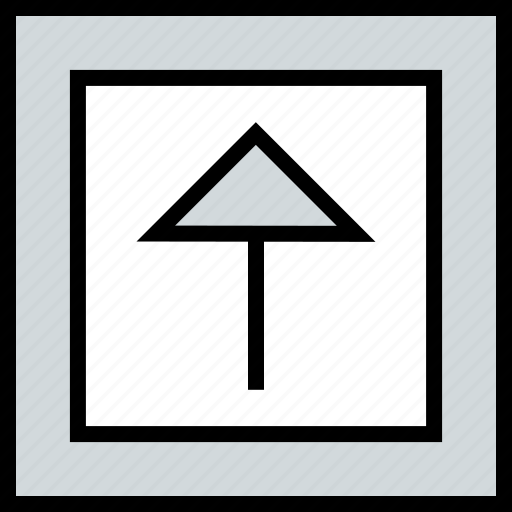 abstract, arrow, design, up icon