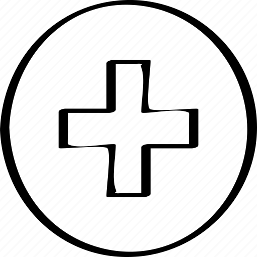 abstract, add, creative, design icon
