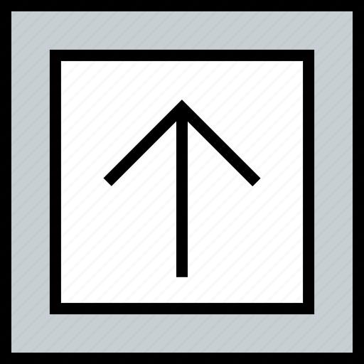 abstract, arrow, creative, design, up icon