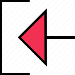 abstract, back, creative, exit icon