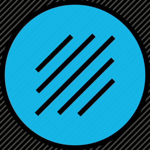 abstract, creative, design, diagnol, lines icon