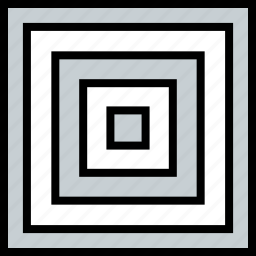 abstract, creative, design, maze, rectangle icon
