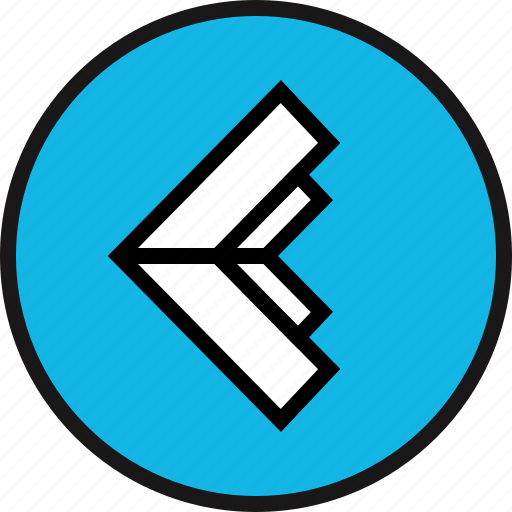 arrow, back, exit, left icon