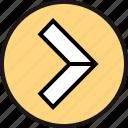 arrow, go, pointe