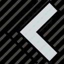 arrow, direction, double, left, pointer