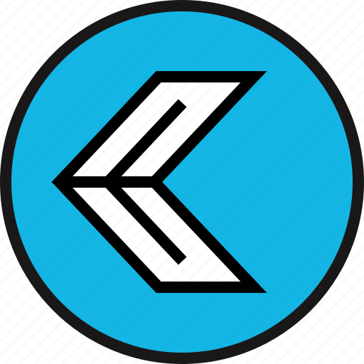 arrow, exit, left icon