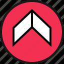 arrow, go, ui, ux