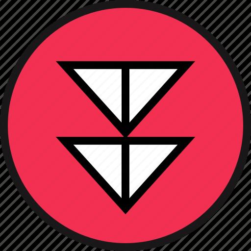 arrow, sleek, ui, ux icon
