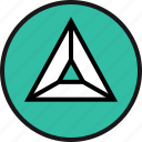 arrow, high, triangle, up icon