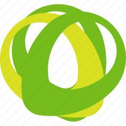 abstraction, circle, ecology icon