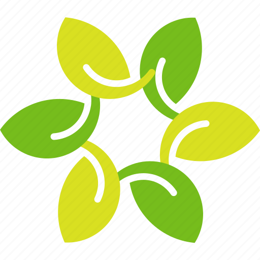 flowre, leaves, petals icon