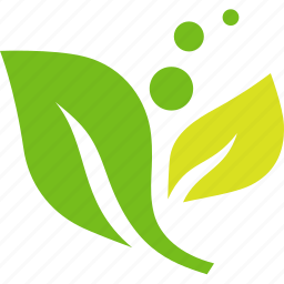 ecology, environmental, green, leaves, plant icon