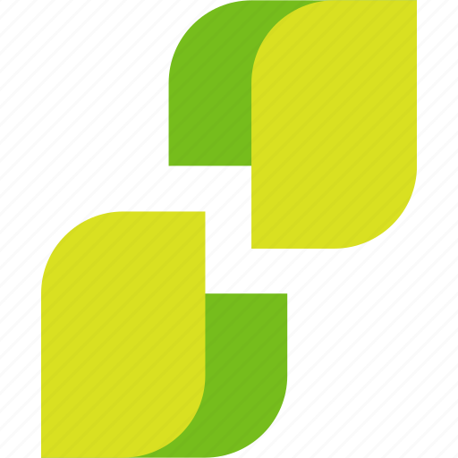 abstract, leaves icon