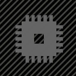chip, component, cpu, electronics, gpu, processor, technology icon
