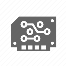 board, circuit, computer, device, electronics, part icon