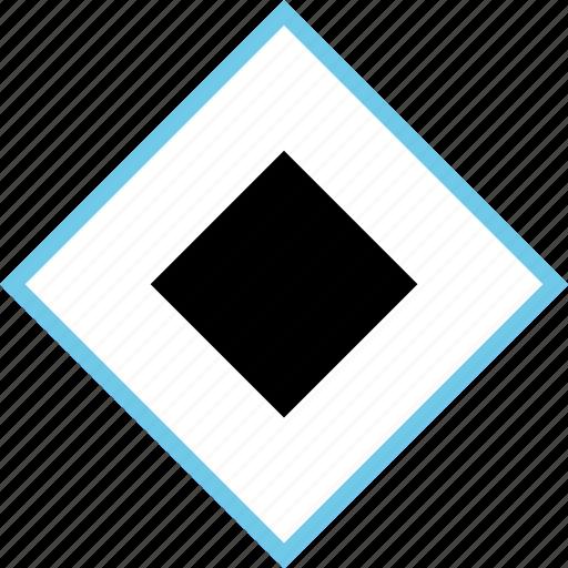 abstract, creative, cube, design, square icon
