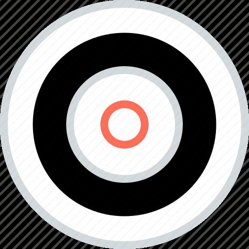 abstract, bullseye, center, creative, design, eye icon