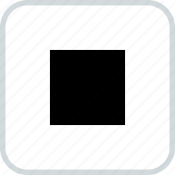abstract, center, creative, design, square icon