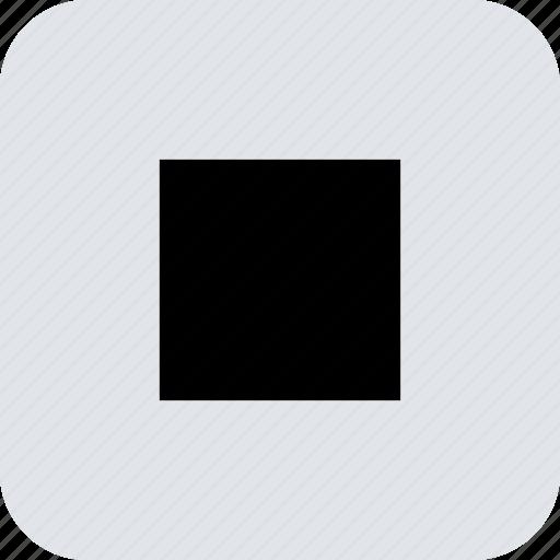 abstract, center, creative, design, eye, square icon