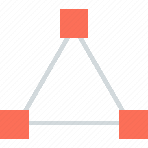 abstract, creative, design, edit, triangle icon