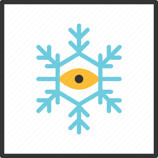 Abstract, eye, geometry, line, shape, snowflake, tribal icon - Download on Iconfinder