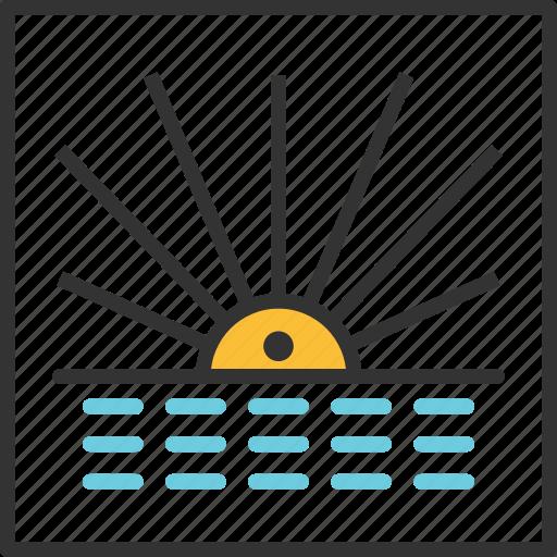 abstract, eye, geometry, line, shape, sun, tribal icon