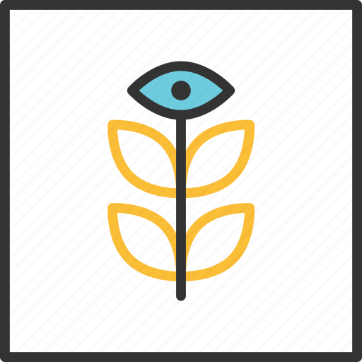 abstract, eye, geometric, geometry, line, shape, tribal icon