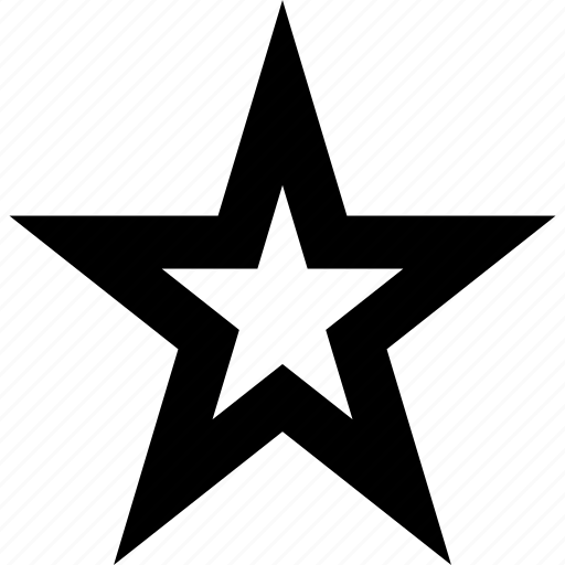 abstract, favorite, star icon