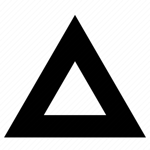abstract, line, triangle icon