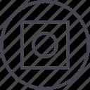 abstract, creative, cube, design, dot, goal icon