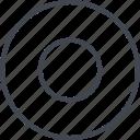 abstract, center, creative, design, goal icon