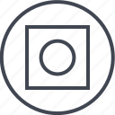 abstract, creative, design, dot, hexagon, shape icon