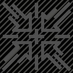 abstract, arrow icon