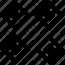 cubes, four, online, puzzle, web icon
