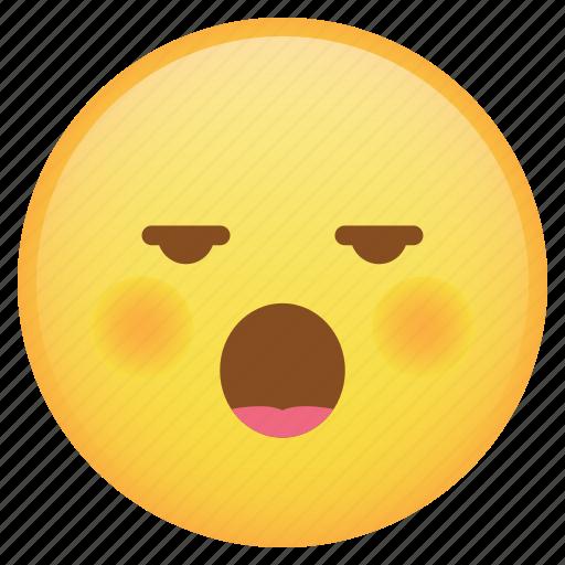 drunk, emoji, emoticon, sleepy, smiley, weird icon