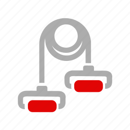 activity, equipment, fitness, sport, tape, workout icon