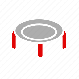 activity, equipment, jumping, sport, trampoline, workout icon