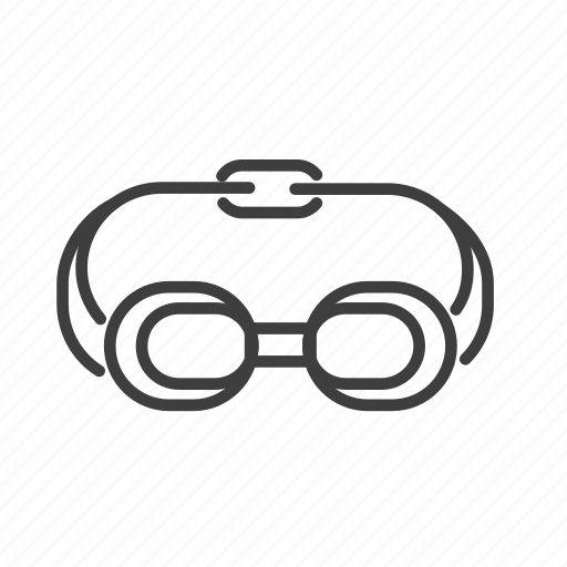 accessories, activity, glasses, sport, swimming, water icon