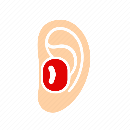 activity, earplugs, equipment, sport, water icon