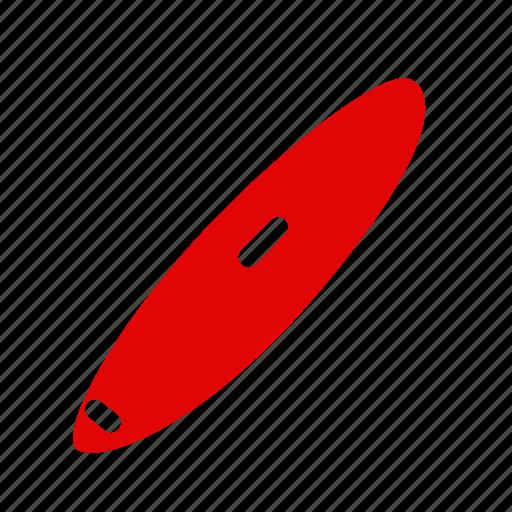 activity, equipment, sport, surfboard, water icon