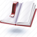 annotations, letter, notebook icon