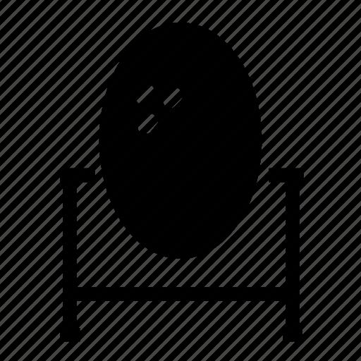 furniture, mirror icon