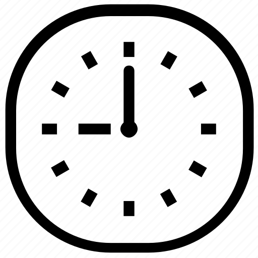 alert, clock, deadline, hour icon